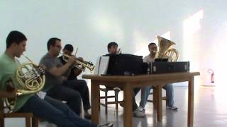 Hino 219 CCB - Clarone, Violino, Trompete, Trompa e Tuba