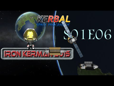 KSP Iron Kerman 2015 - S01 E06 - Matroschka Stil - Rocket Ception