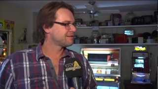 Jukebox Sammler Rainer Böhm im TV Allgäu