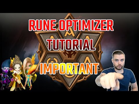 Summoners War Rune Optimizer Tutorial - (SWEX & SWOP) How To Install And Use