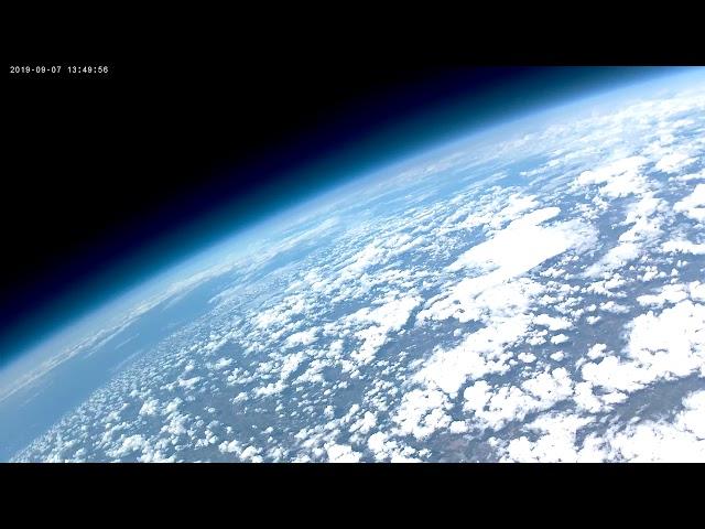 Space Club Toronto Balloon Launch Sept 2019 - burst