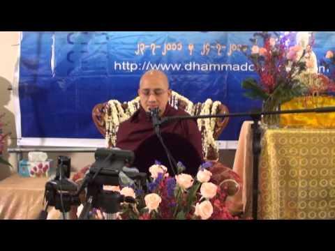Buddha Dhamma Thabin by Ashin Sandardika 23-7-2011