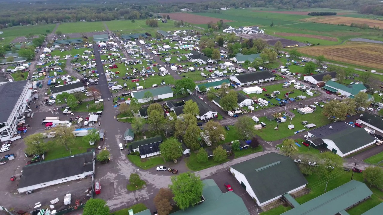 Canfield Swap Meet >> April 2017 Canfield Swap Meet Fairgrounds Ohio Youngstown Drone