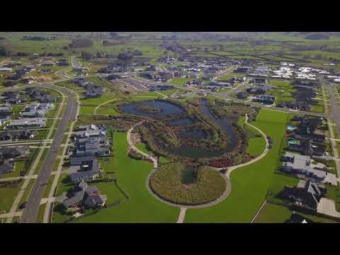 4K Drone Footage - Cambridge, New Zealand