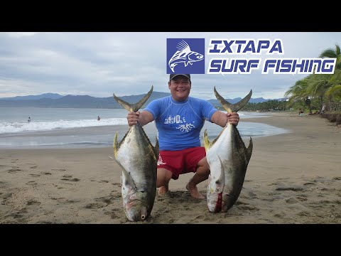 Pesca de Jurel - Pesca de Playa Videos De Viajes