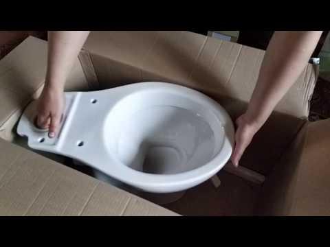 Унитаз-компакт CERSANIT PRESIDENT P010 с бачком и сиденьем полипропилен