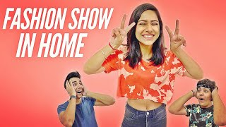 CREATING FASHION SHOW IN HOME PART 2 | Rimorav Vlogs