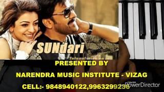 Sundari full song | khaidi no 150 | on keyboard.narendra music institute vizag cell :- 9848940122