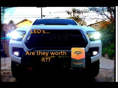 Led Headlight bulbs | Auxbeam