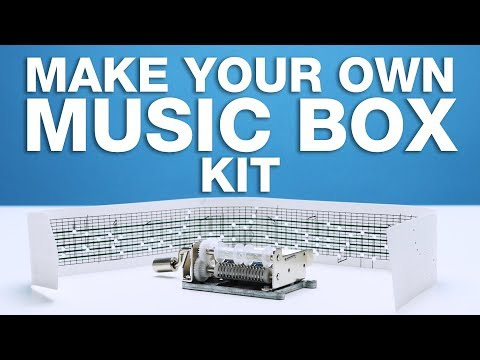 Make Your Own Music Box Kit | LOOTd Unboxing