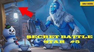SECRET BATTLE STAR WEEK 5 SEASON 7 LOCATION! - Fortnite (Snowfall Challenges) SECRET LOADING SCREEN