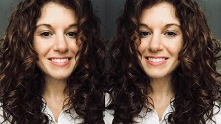 Easy way to refresh your curls | Curly Girl Method