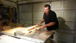 """Simple Jig! Turns """"tablesaw"""" Into Jointer!"""