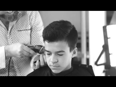 Teen Boy's Haircut - TheSalonGuy