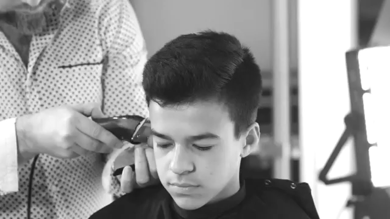 Teen Boys Haircut Thesalonguy Youtube