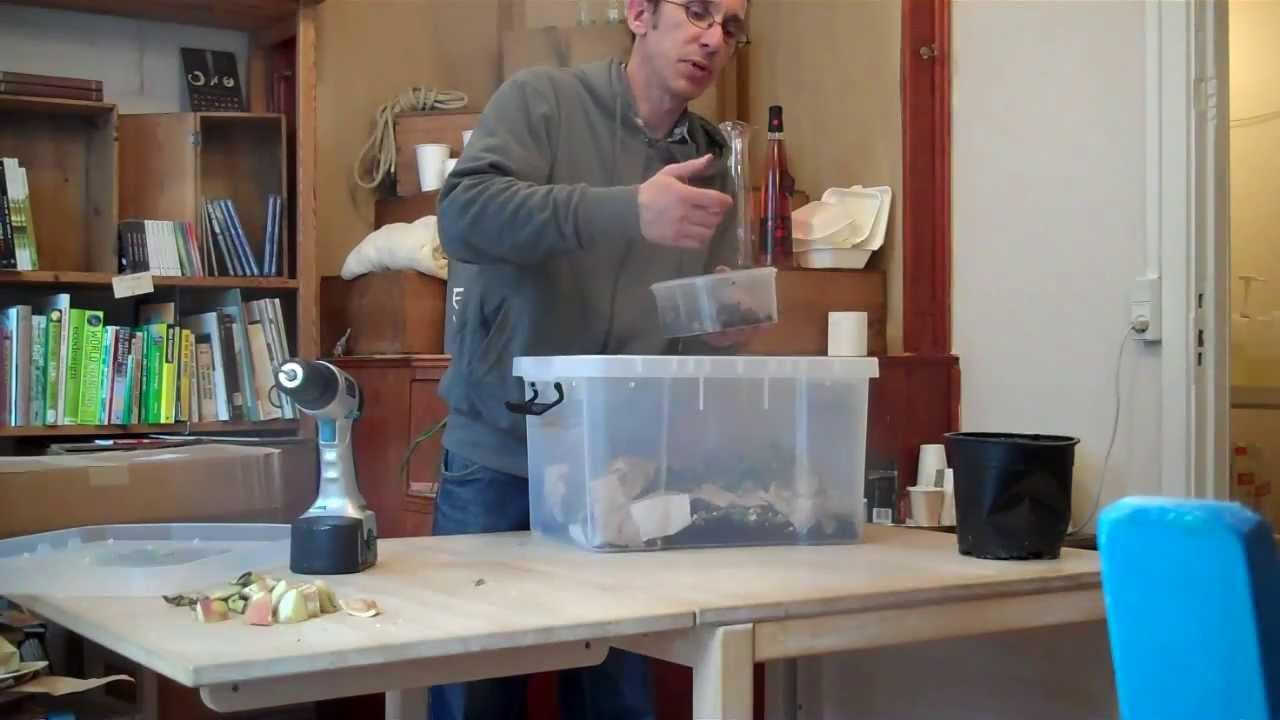 Diy Indoor Worm Compost Bin