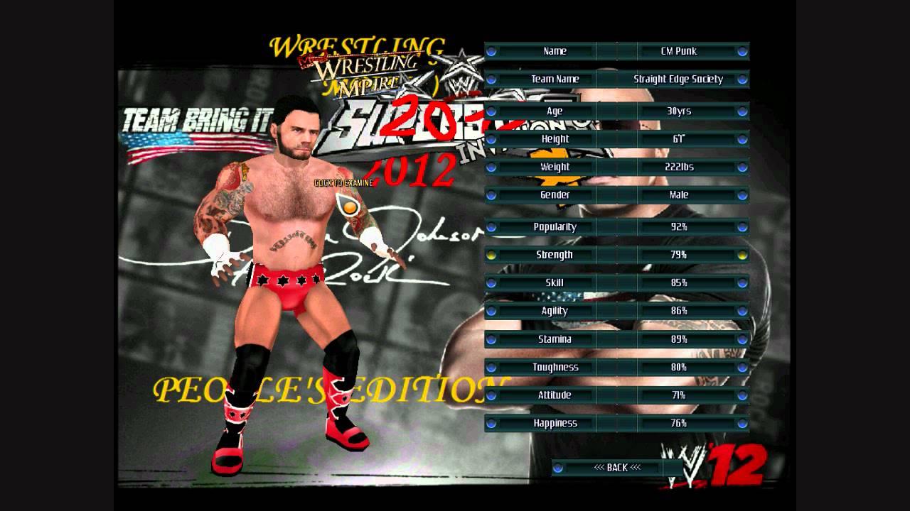 wrestling mpire 2010 superstars mod twc4 pc full
