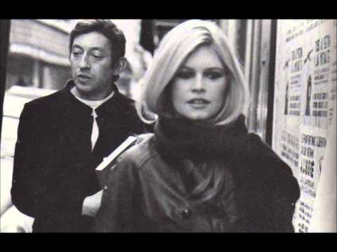 Serge Gainsbourg and Brigitte Bardot - Comic Strip