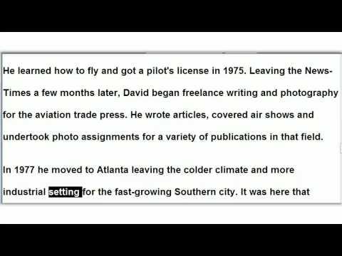 David Vine's Career Story