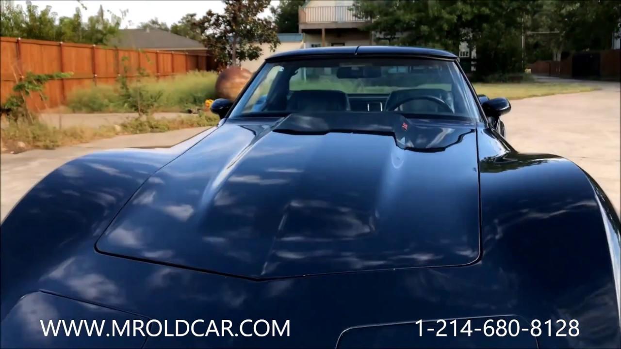 1979 chevrolet corvette stingray l 82 4 speed 13 900 for sale dallas tx youtube. Black Bedroom Furniture Sets. Home Design Ideas