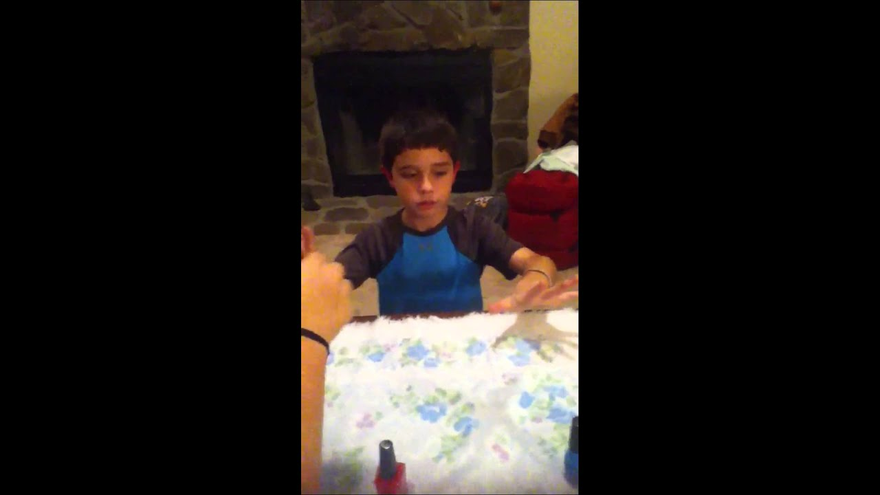 Youtube Boys In Makeup: Painting Little Boys Nails