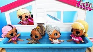 КУКЛЫ ЛОЛ СЮРПРИЗ МУЛЬТИКИ! КТО НА МОРЕ НЕ ПОЕДЕТ? #lolsurprise #doll