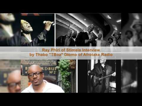 "Ray Phiri of Stimela Interview with Thabo ""TBoz"" Dlomo of Afrotake Radio Part 1"