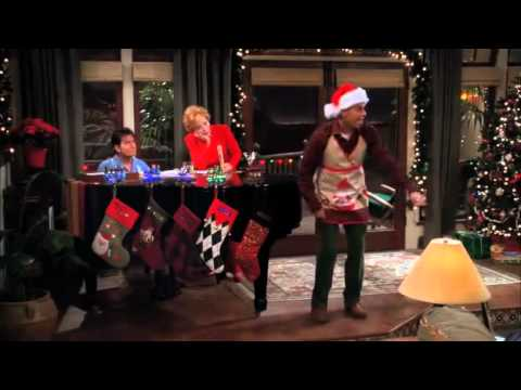 Two and a Half Men Jingle Bells / Christmas Song Season 7