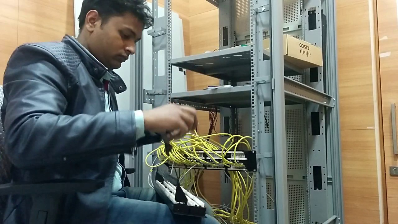Installing Dlink 48 Port Patch Panel With Cisco Switch Easy Am I Doing Wrong This Cat 6 Wiring Server Fault Technique