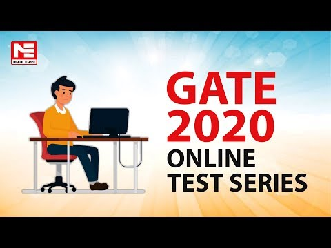 GATE 2020 Online Test Series for CE, ME, EE, ECE, CSE, IN, PI