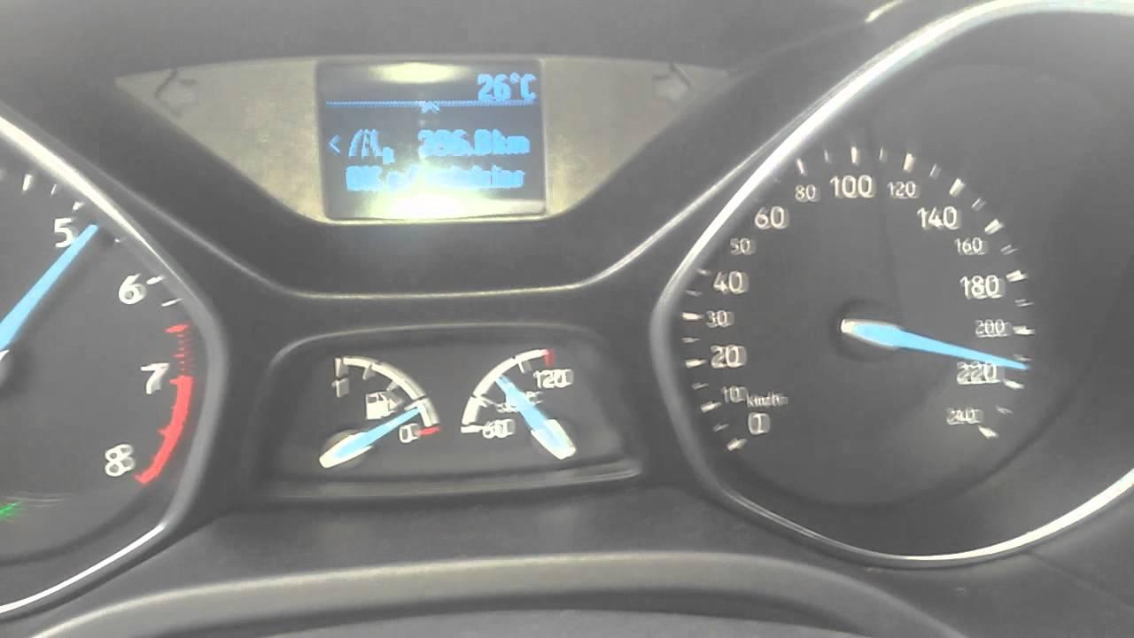 velocidad maxima ford focus iii 2 0 gdi 170 cv