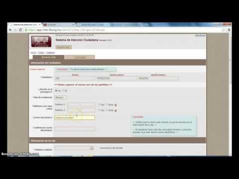 Cómo hacer una cita en el INE (IFE) de YouTube · Duración:  4 minutos 19 segundos