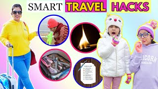 SMART TRAVEL HACKS - To Solve All Your Troubles | CookWithNisha
