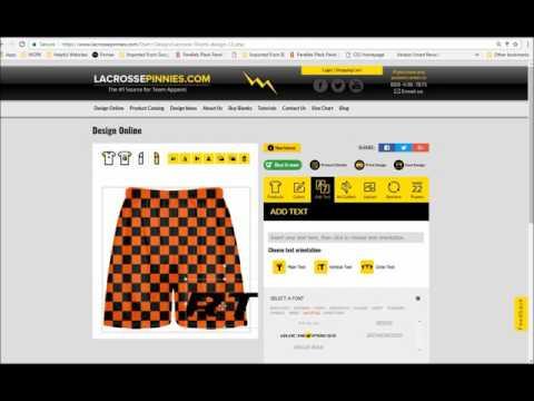 Lacrosse Shorts & Custom Lax Shorts - Design & Order Online