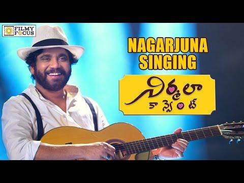 Nagarjuna Singing & Performing For Kotha Kotha Bhasha Song   Nirmala Convent - Filmyfocus