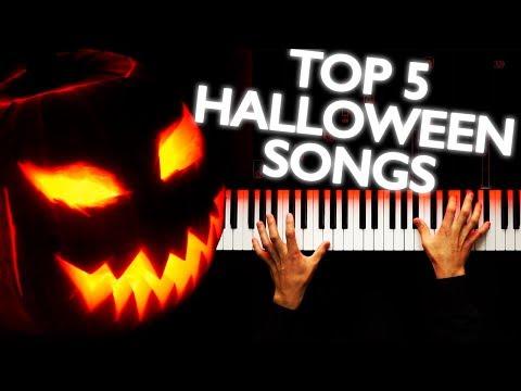 TOP 5 HALLOWEEN SONGS 🎃