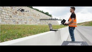 UAV- / Drone-based Retaining Wall Inspection – Civil Engineering