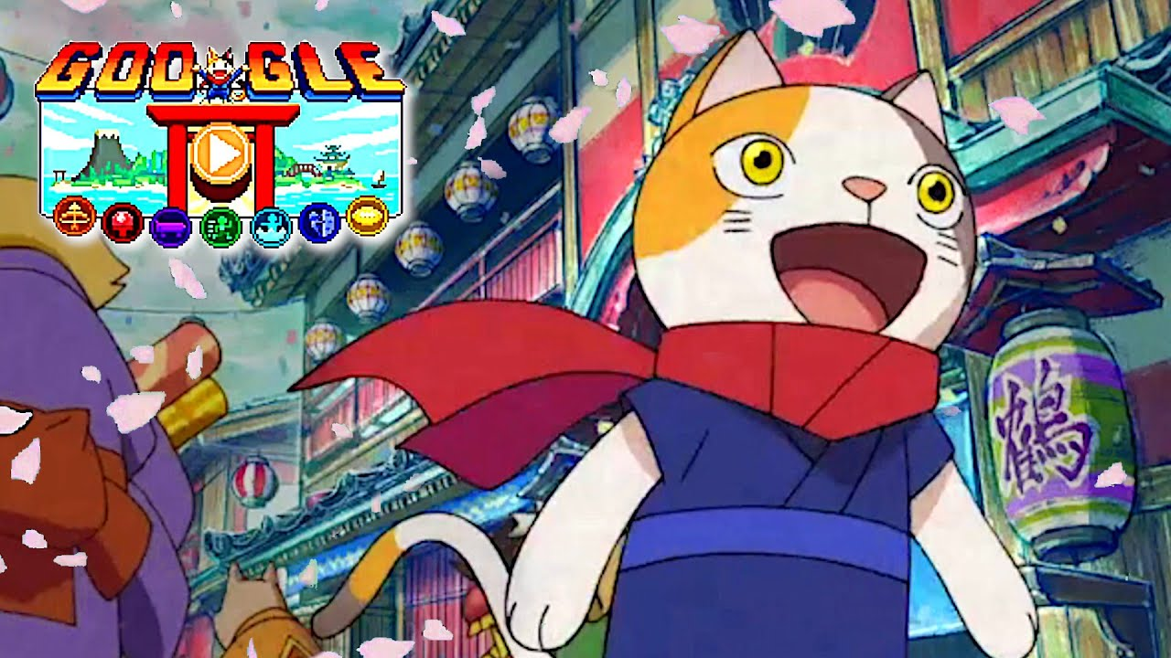 Doodle Champion Island Games - Google's Cute Cat Game FULL PLAYTHROUGH / ENDING / ALL TROPHIES