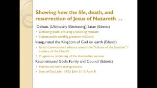 Chaos to Restoration Lecture 9: Jesus' Establisment of Kingdom on Earth