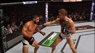 UFC 229: The Art of Conor's Striking