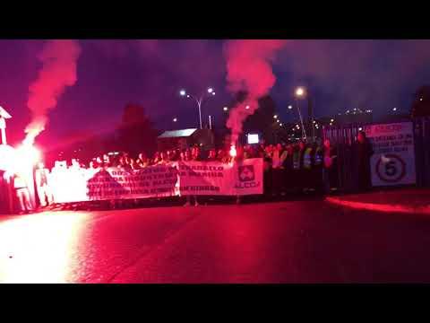 Los trabajadores de Reymogasa inician su segunda jornada de protestas