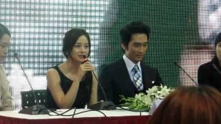"Video [120107][FANCAM] Song Seung Hun & Kim Tae Hee Promoting Drama ""My Princess"" in VietNam download MP3, 3GP, MP4, WEBM, AVI, FLV Maret 2018"