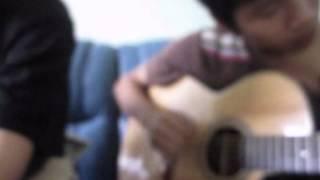 Quán cafe mùa hè guitar