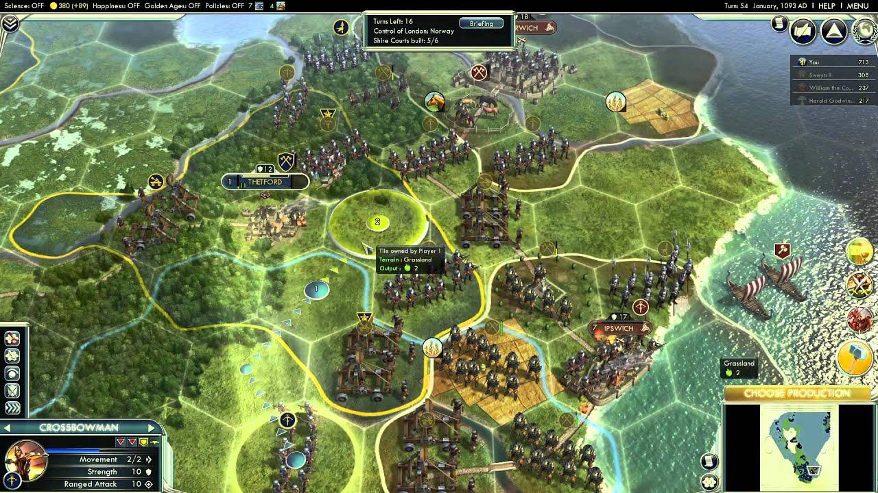 Viking Destiny Purple Civilization Scenario Paradise And