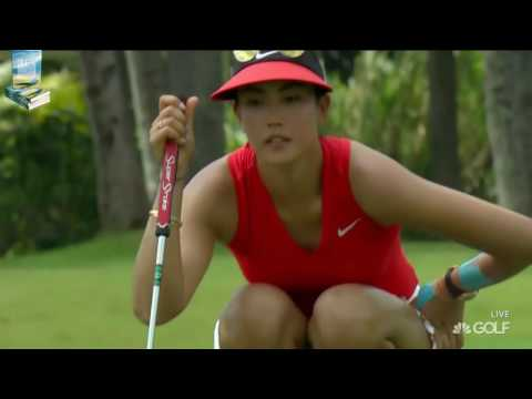 Incredibly Sexy Video of Michelle Wie 2017 HSBC Womens Champ