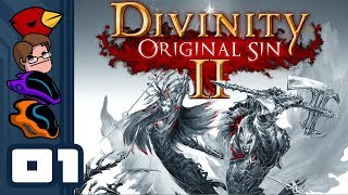 Let's Play Divinity: Original Sin 2 [Multiplayer] - PC Gameplay Part 1 - Chicken Polymorphs For All!