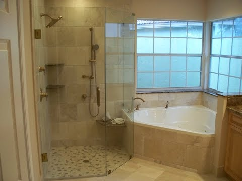Traditional Tub Shower Combo Idea
