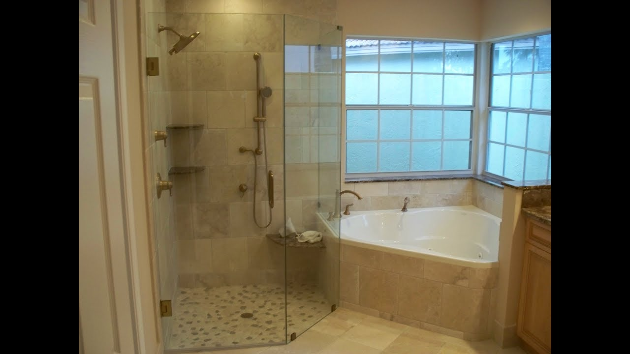 Traditional Tub Shower Combo Idea - YouTube