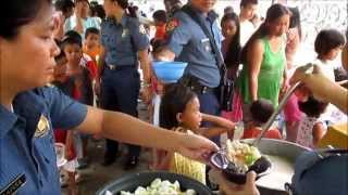 Agdangan Police Best practice (Feeding Program) with PSINSP BONNA ABUYAN OBMERGA