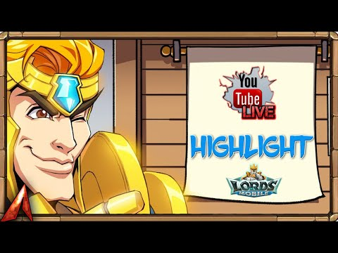 525 Legendary Jewel Chests! Stream Highlight! Lords Mobile